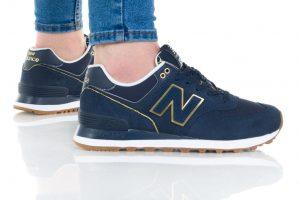 נעליים ניו באלאנס לנשים New Balance WL574 - כחול כהה