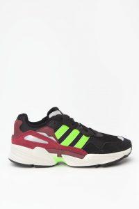 נעלי סניקרס אדידס לגברים Adidas Yung-96 - שחור/אדום