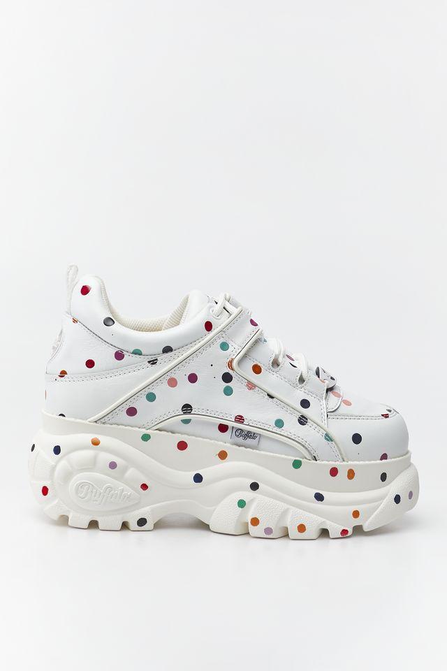 נעליים Buffalo לנשים Buffalo DOTTED - צבעוני/לבן