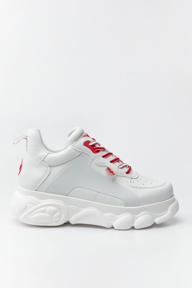 נעליים Buffalo לנשים Buffalo VEGAN CLD CADY - לבן/אדום
