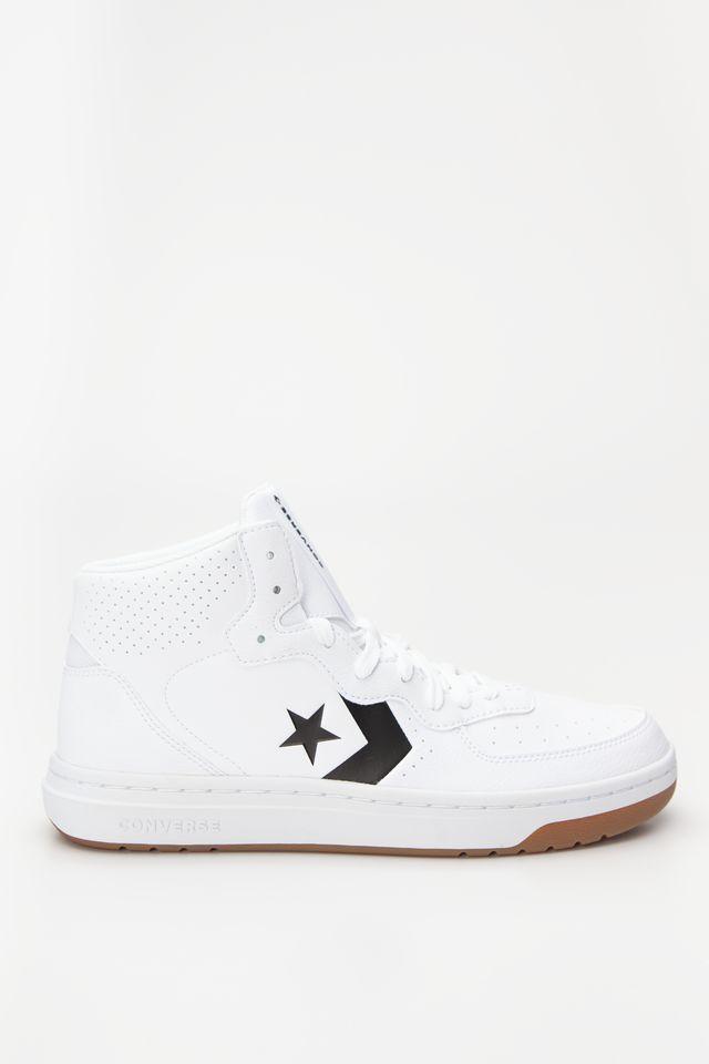 נעליים קונברס לגברים Converse RIVAL MID - לבן
