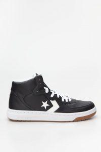 נעליים קונברס לגברים Converse RIVAL MID - שחור/לבן