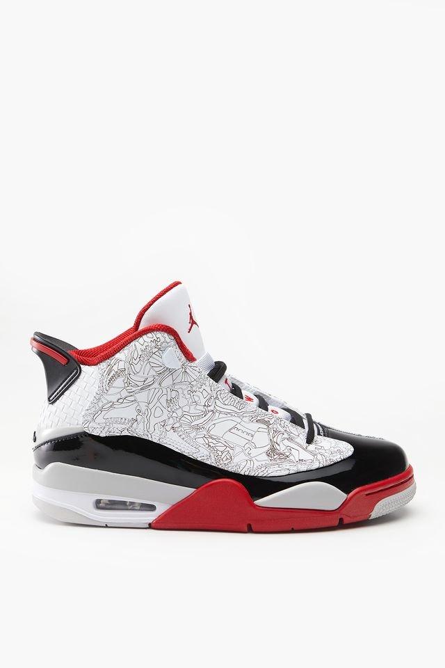 נעליים נייק לגברים Nike AIR JORDAN DUB ZERO - שחור/לבן