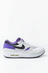 נעלי סניקרס נייק לגברים Nike AIR MAX 1 DNA CH 1 - לבן/סגול