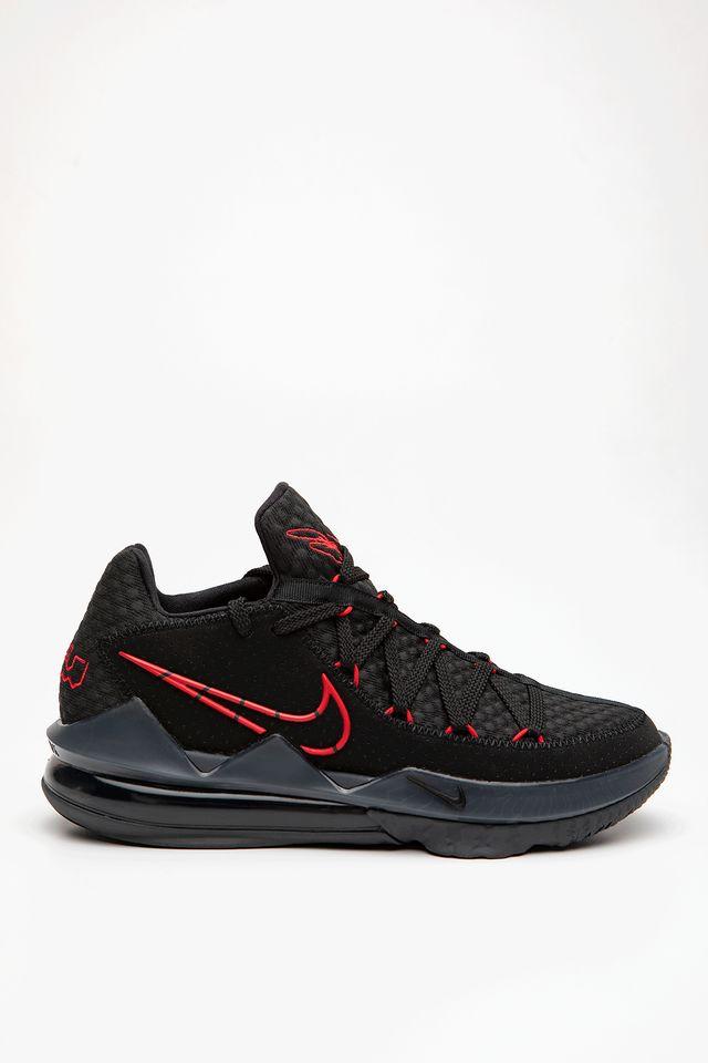 נעליים נייק לגברים Nike LEBRON XVII LOW - שחור/אדום