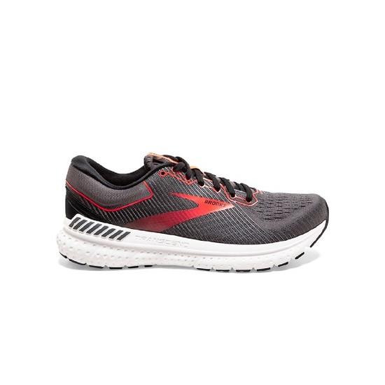 נעליים ברוקס לנשים Brooks Transcend 7 - אפור/אדום