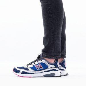 נעלי סניקרס ניו באלאנס לגברים New Balance MSX - לבן/ כחול