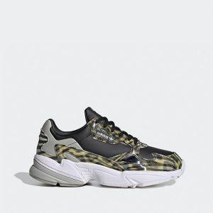 נעלי סניקרס אדידס לנשים Adidas Originals Falcon - שחור/אפור