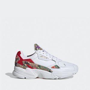 נעליים Adidas Originals לנשים Adidas Originals Falcon - צבעוני/לבן