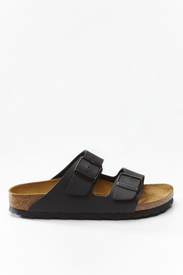 נעליים בירקנשטוק לנשים Birkenstock Arizona - עור שחור