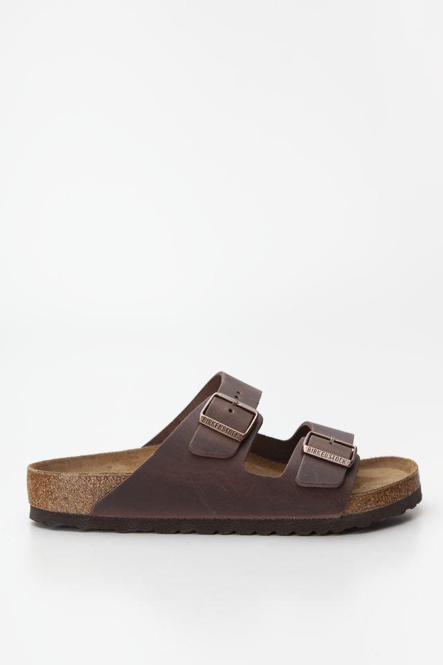 נעליים בירקנשטוק לנשים Birkenstock Arizona - חום בוץ