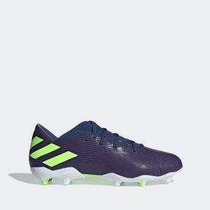 נעליים אדידס לגברים Adidas NEMEZIZ MESSI 19.3 FG - כחול כהה
