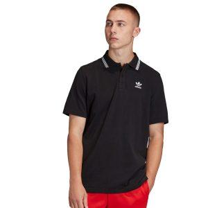 ביגוד Adidas Originals לגברים Adidas Originals PIQUE POLO - שחור