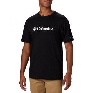 ביגוד קולומביה לגברים Columbia CSC Basic Logo - שחור