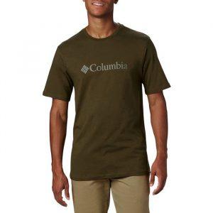 ביגוד קולומביה לגברים Columbia CSC Basic Logo - ירוק
