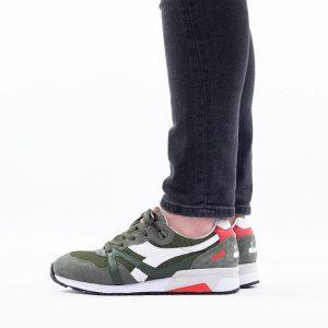 נעלי סניקרס דיאדורה לגברים Diadora Mesh Italia - ירוק