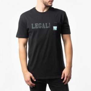 ביגוד HUF לגברים HUF Legalize Pocket - שחור