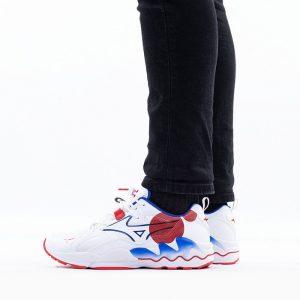 נעליים מיזונו לגברים Mizuno Wave Rider 1S - לבן  כחול  אדום