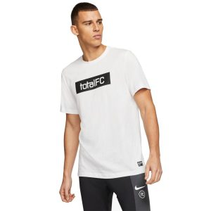ביגוד נייק לגברים Nike M FC Dry - לבן