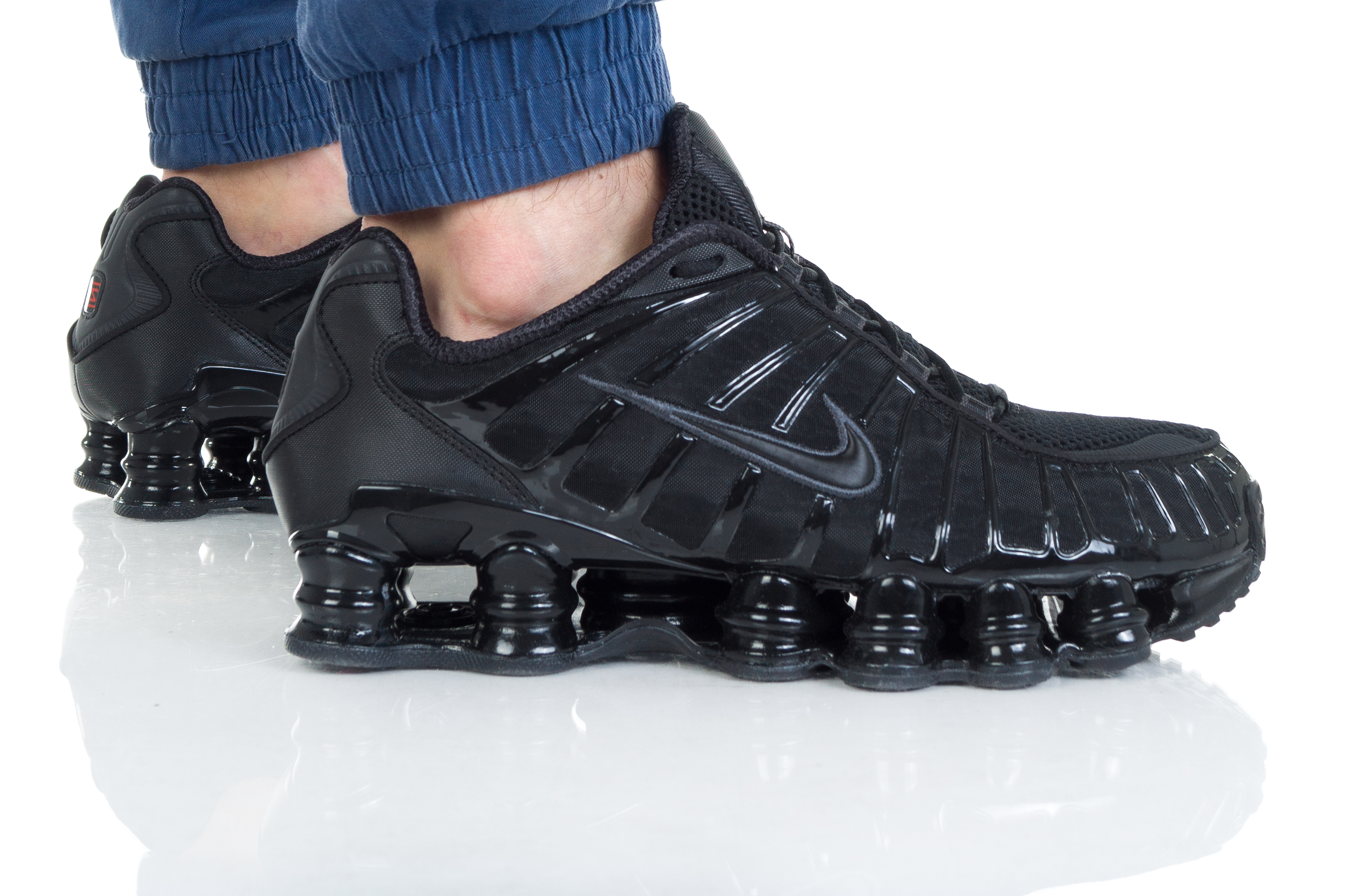 נעליים נייק לגברים Nike SHOX TL - שחור