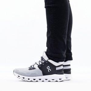 נעליים און לגברים On Running Cloud Hi Edge - שחור/לבן