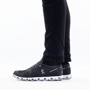 נעליים און לגברים On Running Cloud - שחור/לבן