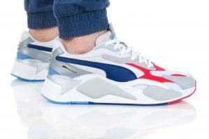 נעלי סניקרס פומה לגברים PUMA BMW MMS RS-X3 - לבן