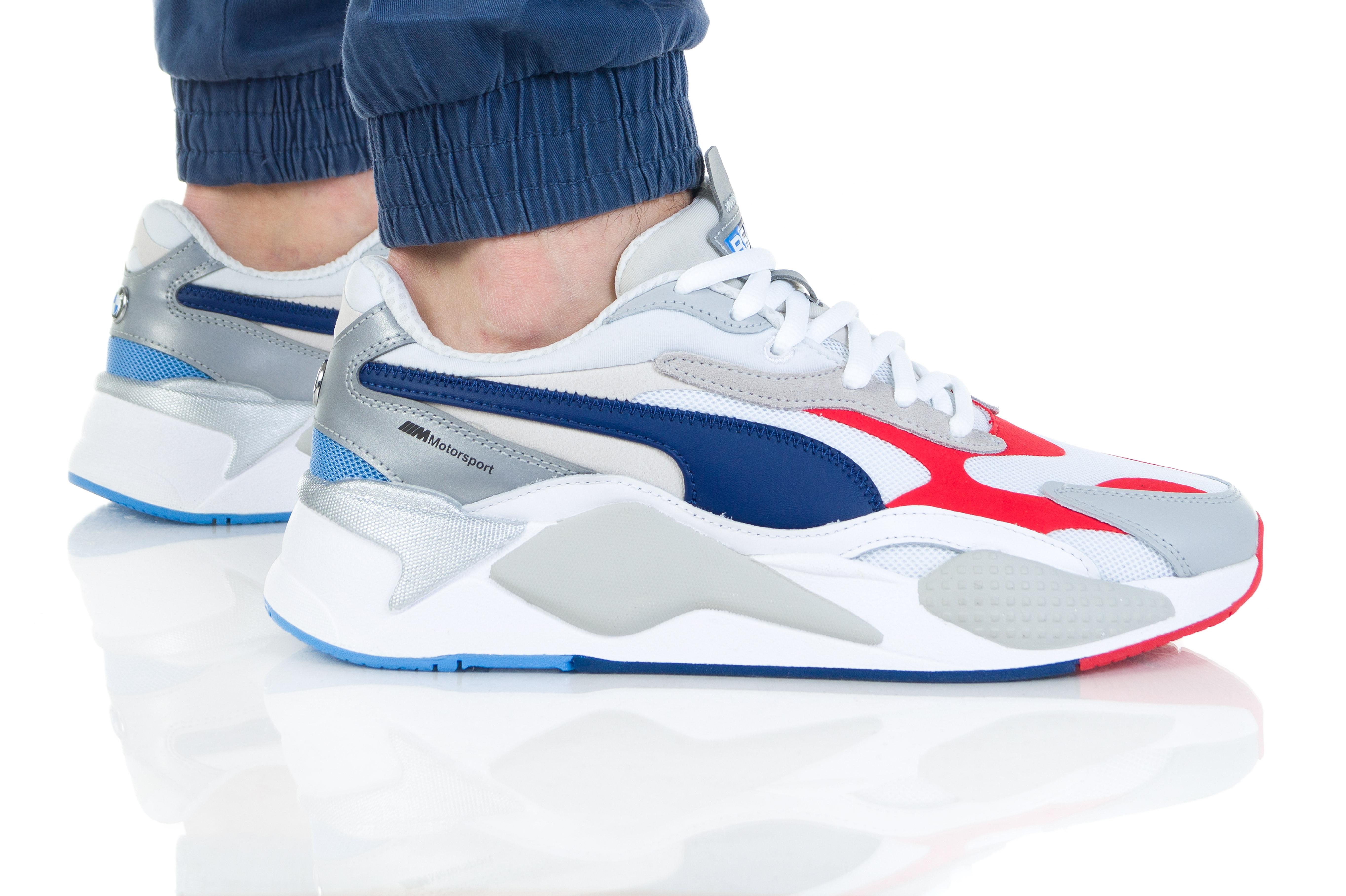נעליים פומה לגברים PUMA BMW MMS RS-X3 - לבן