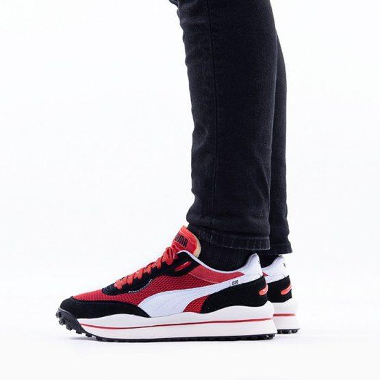 נעליים פומה לגברים PUMA Style Rider Stream On - שחור/אדום