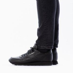 נעליים ריבוק לגברים Reebok Classic Leather MU - שחור פחם