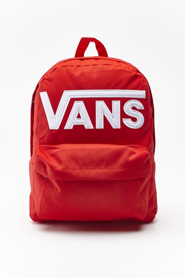 אביזרים ואנס לגברים Vans OLD SKOOL III BACKPACK - אדום