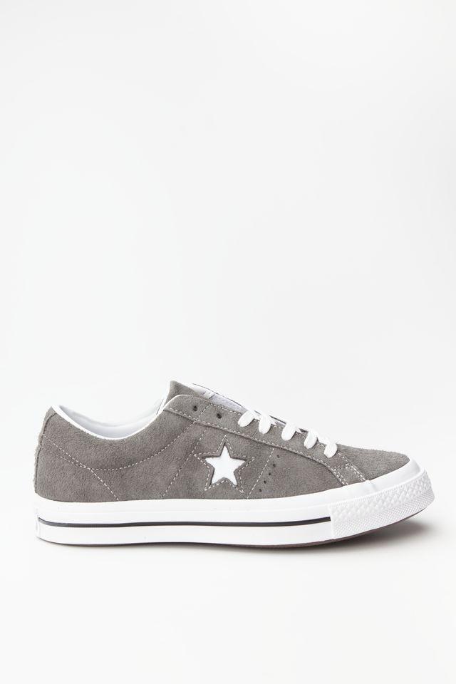 נעליים קונברס לגברים Converse ONE STAR OX - אפור