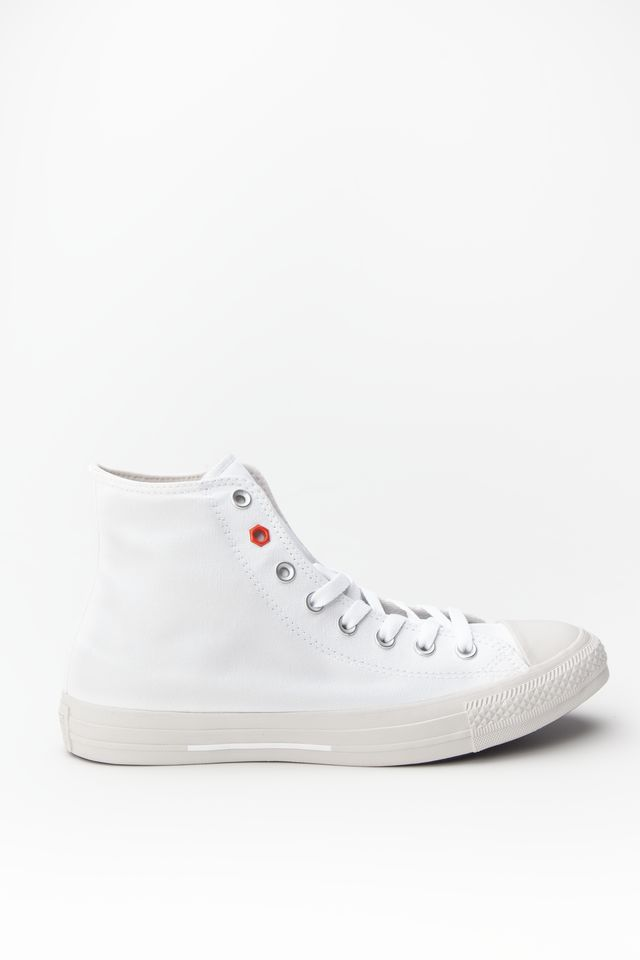 נעליים קונברס לגברים Converse CHUCK TAYLOR ALL STAR HI - לבן