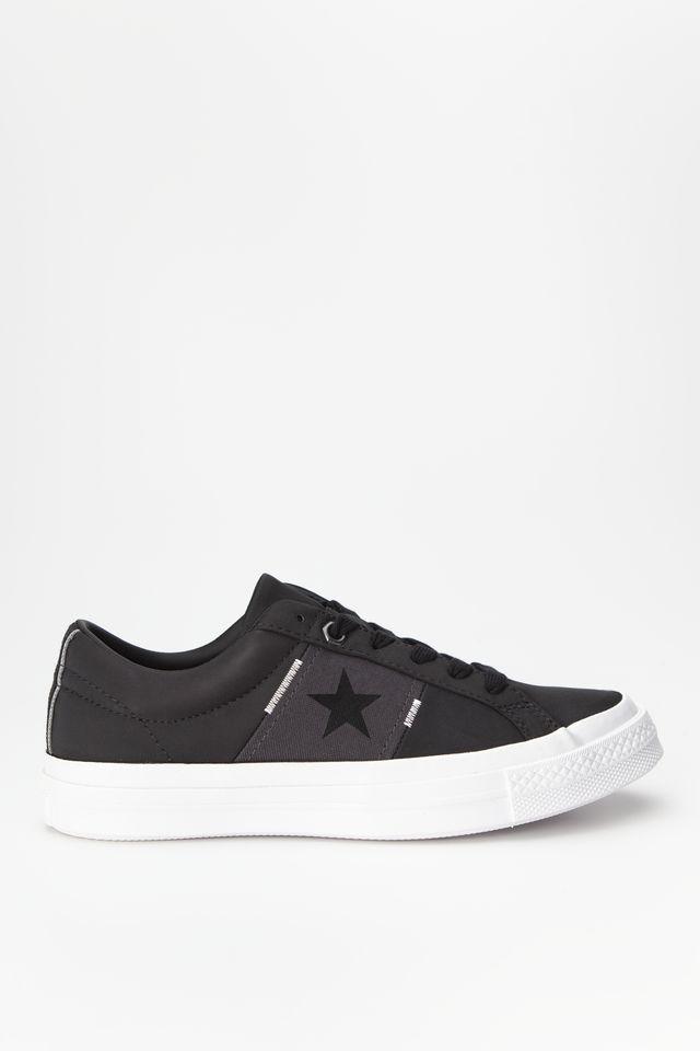 נעליים קונברס לגברים Converse ONE STAR - שחור/לבן