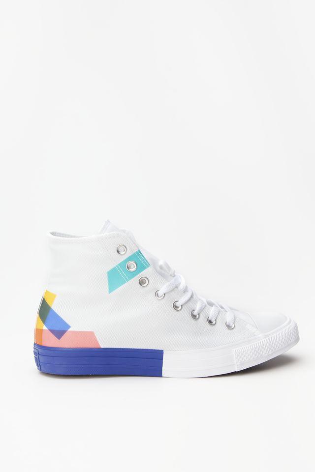 נעליים קונברס לגברים Converse CHUCK TAYLOR ALL STAR HI - צבעוני בהיר