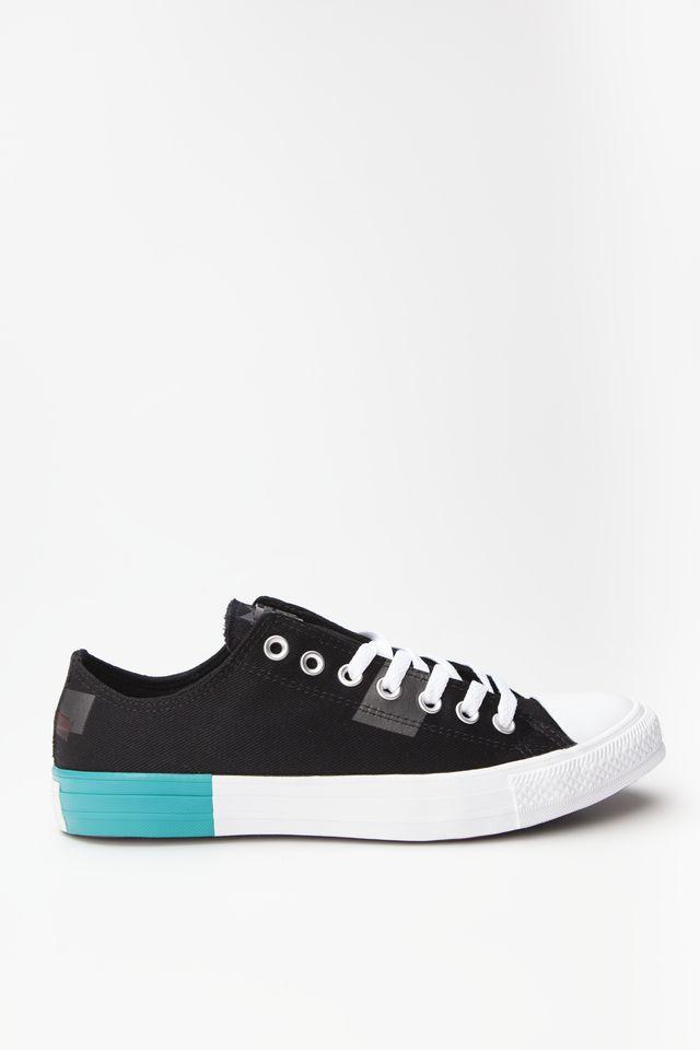 נעליים קונברס לגברים Converse CHUCK TAYLOR ALL STAR OX - צבעוני כהה
