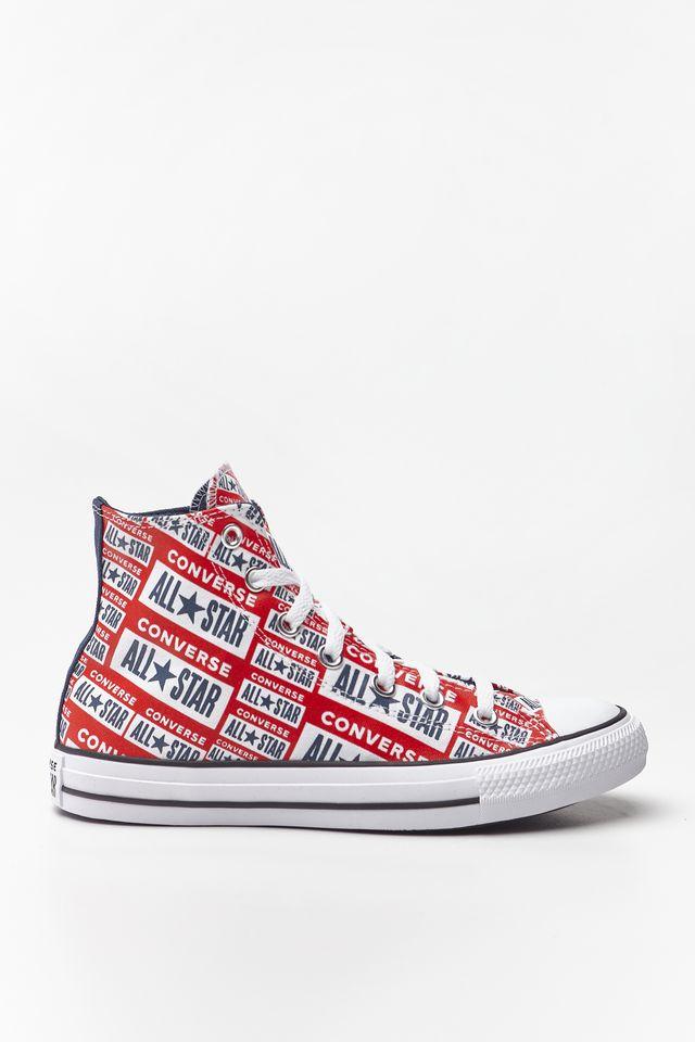 נעליים קונברס לנשים Converse Chuck Taylor All Star Hi - אדום