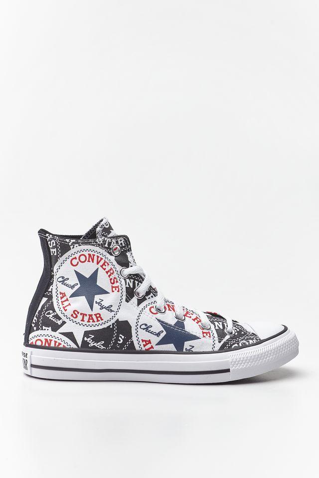 נעליים קונברס לנשים Converse Chuck Taylor All Star Hi - צבעוני/שחור