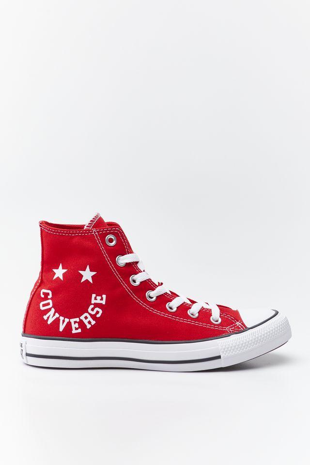 נעליים קונברס לגברים Converse CHUCK TAYLOR ALL STAR SMILE - אדום