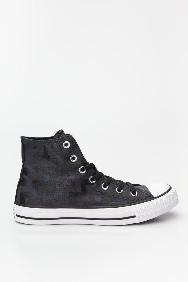 נעלי סניקרס קונברס לנשים Converse Chuck Taylor All Star Hi - לבן/שחור