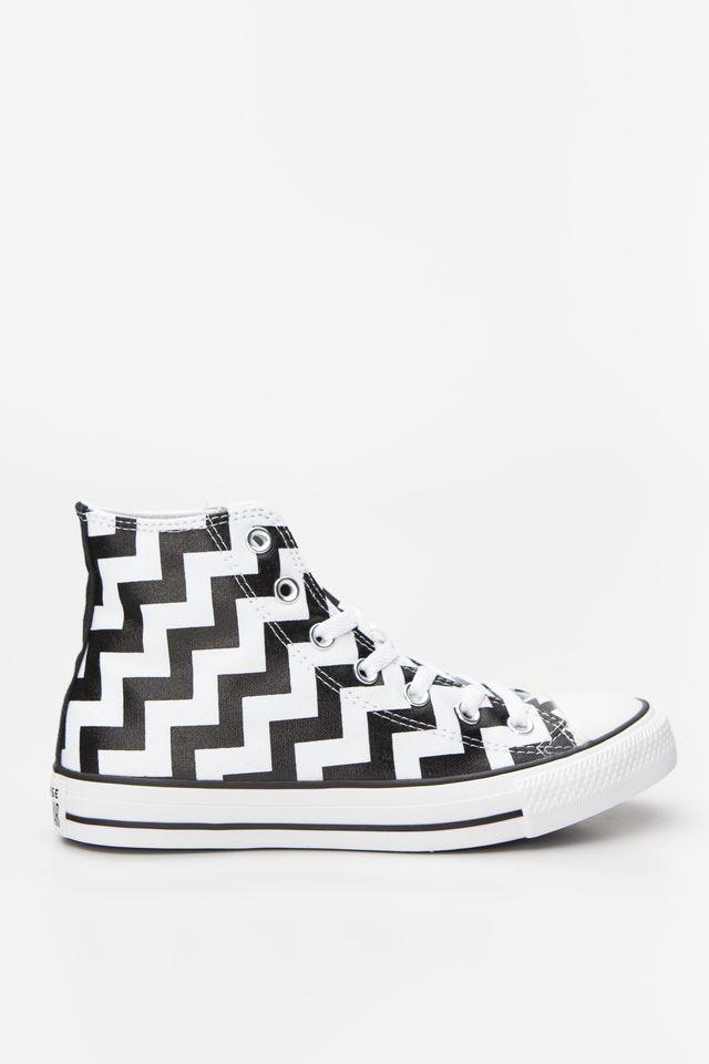נעליים קונברס לנשים Converse Chuck Taylor All Star Hi - שחור הדפס