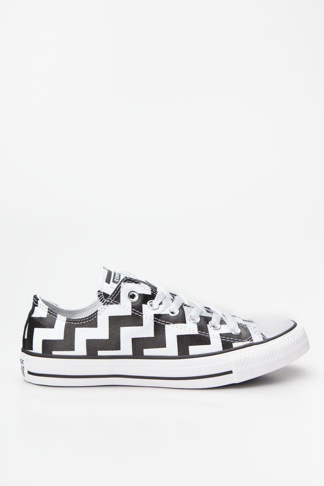 נעליים קונברס לנשים Converse CHUCK TAYLOR ALL STAR OX - לבן/שחור