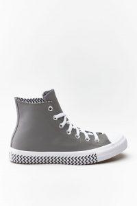 נעלי סניקרס קונברס לנשים Converse Chuck Taylor All Star Hi - אפור