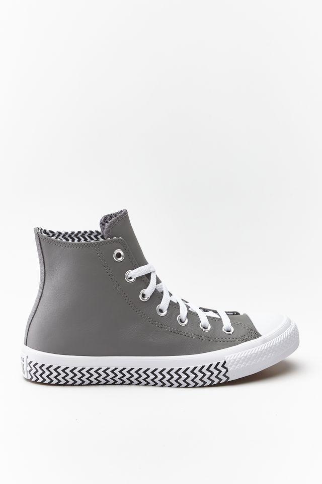 נעליים קונברס לנשים Converse Chuck Taylor All Star Hi - אפור