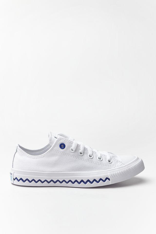 נעליים קונברס לנשים Converse CHUCK TAYLOR ALL STAR OX - לבן