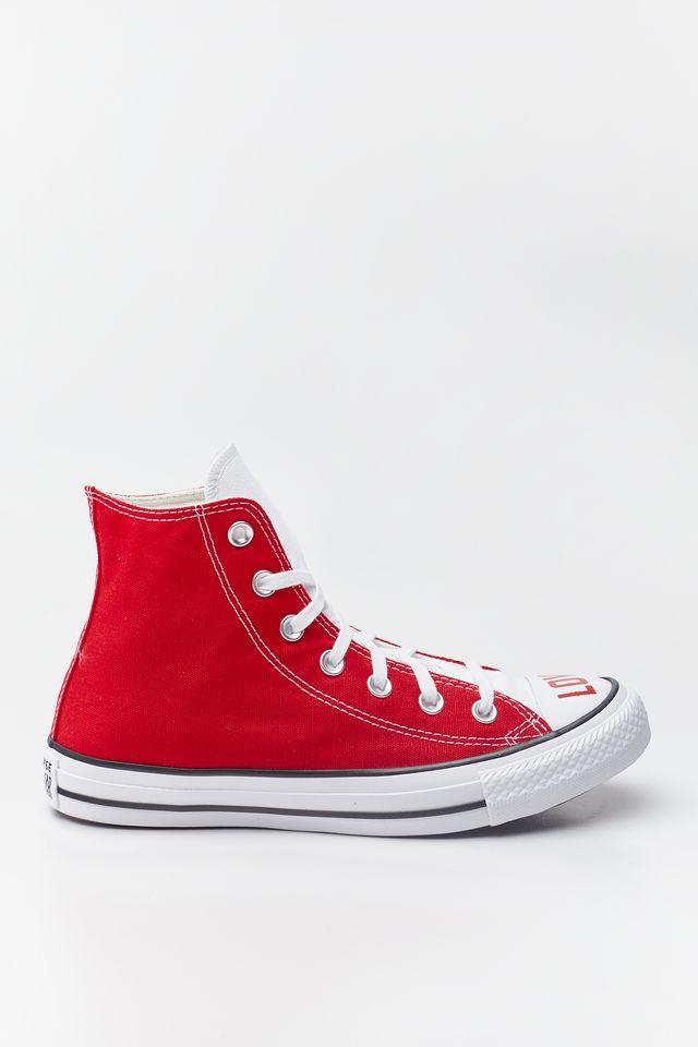 נעליים קונברס לנשים Converse Chuck Taylor All Star Hi - לבן/אדום