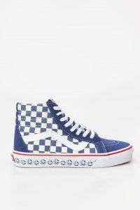 נעליים ואנס לנשים Vans SK8 Hi Reissue - לבן/ כחול