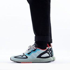 נעליים Adidas Originals לגברים Adidas Originals ZX 2K 4D - צבעוני כהה