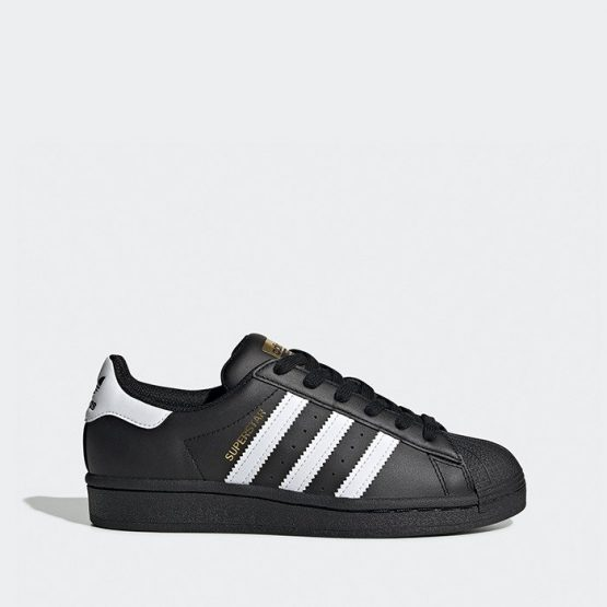 נעלי סניקרס אדידס לנשים Adidas Originals Superstar 2.0 J - לבן/שחור
