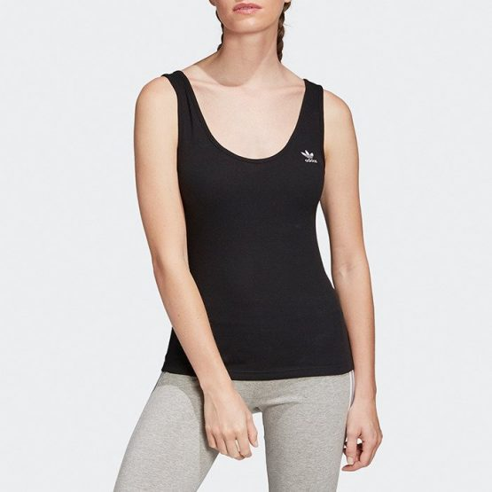 ביגוד Adidas Originals לנשים Adidas Originals Tank Top - שחור
